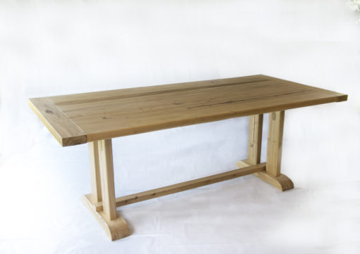 Acacia Trestle Dining Table