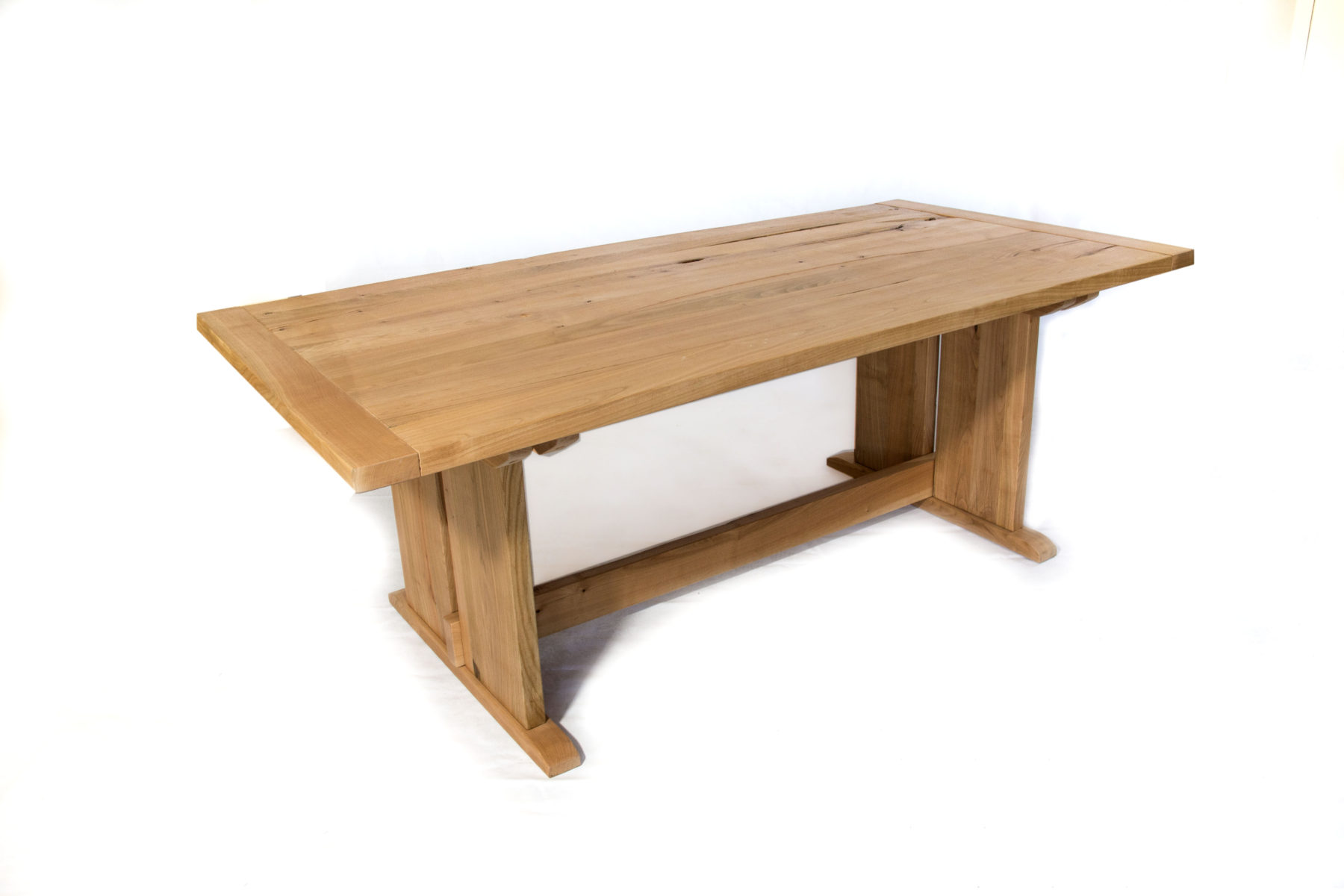 Trestle cherry dining table for Cherry dining table